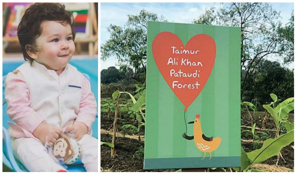 Taimur Ali Khan gets a forest as gift from Rujuta Diwekar