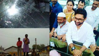 गुजरातः दलित नेता जिग्नेश मेवाणी के काफिले पर हमला, बाल-बाल बचे