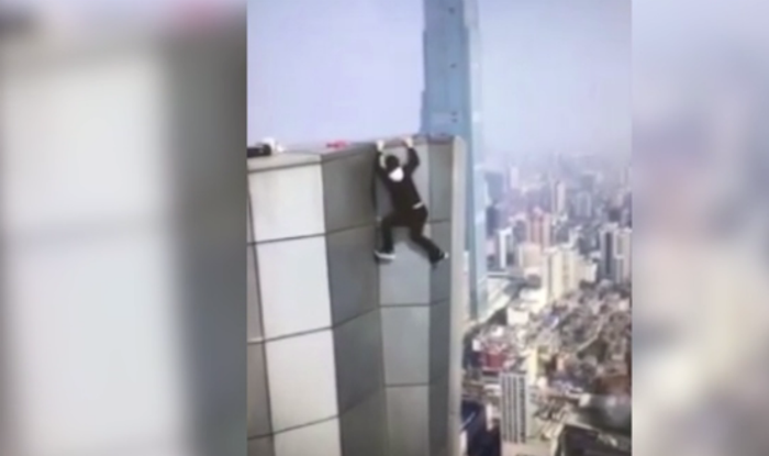 Daredevil 'rooftopper' falls to his death from 62-story building in China