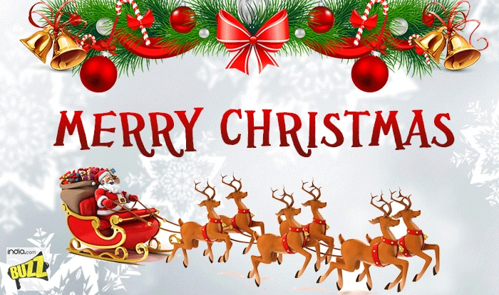 Christmas 2017 Wishes: Best WhatsApp Messages, Facebook Status, SMS And GIF  Image Greetings To Wish Merry Xmas To Your Loved Ones