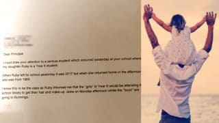 Dad's Sassy Letter To A School For Its Sexist Policy Is Winning The Internet