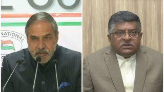 'सीक्रेट मीटिंग' पर सियासी संग्राम, रविशंकर ने की पाक की निंदा, कांग्रेस ने दी सफाई
