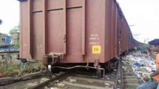 Goods Train Derails Near Diva Station, Central Line Disrupted