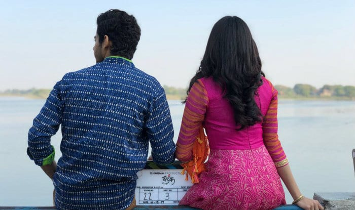Janhvi Kapoor And Ishaan Khattar Kickstart The Shoot Of Dhadak- View Pics