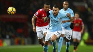 EPL: Manchester City Beat Manchester United 2-1 to Take Clear Lead on Points Table