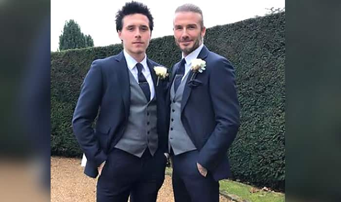 The Beckhams descend on Hedsor House for wedding