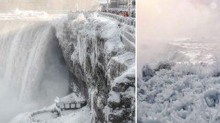 Niagara Fall Freezes, Becomes Spectacular Winter Wonderland: See Pics