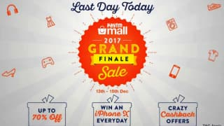 Paytm Mall Grand Finale Sale Ends Today: Offers, Cashback on iPhone X, iPhone 8 and More