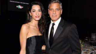 George Clooney and Amal Alamuddin Hand Out Headphones to Co-Passengers With a Handwritten Note While Travelling With Twins on a Flight