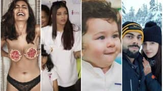 Viral Pics Of The Year: Aishwarya Rai Bachchan, Ranbir Kapoor - Mahira Khan, Taimur Ali Khan And More Who Broke The Internet This Year