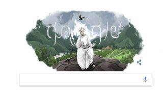 Kuppali Venkatappa Puttappa's 113th Birthday: Google Celebrates Famous Kannada Poet With a Doodle