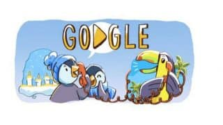 Google Doodle Marks The Beginning of December Global Festivities