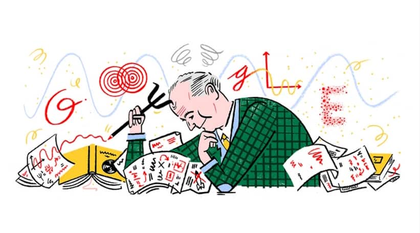 Max Borns 135th birthday Celebrated with a Google Doodle