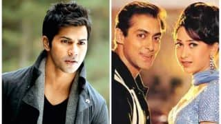 Varun Dhawan Responds To Rumours Of A Remake Of Salman Khan - Karisma Kapoor's Biwi No. 1
