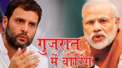 गुजरात चुनाव LIVE: दूसरे दौर की वोटिंग जारी, पीएम मोदी ने डाला वोट