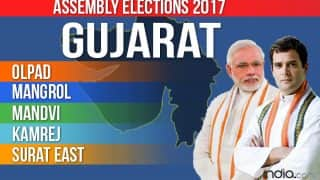 Olpad, Mangrol, Mandvi, Kamrej, Surat East Election 2017 Results: BJP Wins 3 Seats, Congress 2