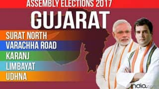 Surat City North, Varachha, Karanj, Limbayat, Udhna Election 2017 Results: BJP Wins All 5 Seats