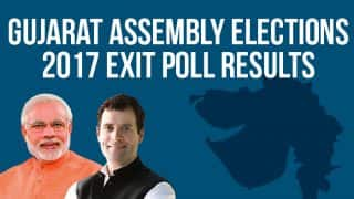 Today's Chanakya-News24 Exit Poll Results For Gujarat Assembly Elections 2017: BJP to Win 135 Seats, Congress 47