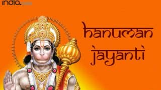 Happy Hanuman Jayanti 2021: Top Wishes, Whatsapp Messages, Quotes, Images, Status, And Greetings For Loved Ones