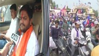 Gujarat Assembly Elections 2017: Hardik Patel Holds Roadshow in Ahmedabad, Says Response Makes Him Feel Confident