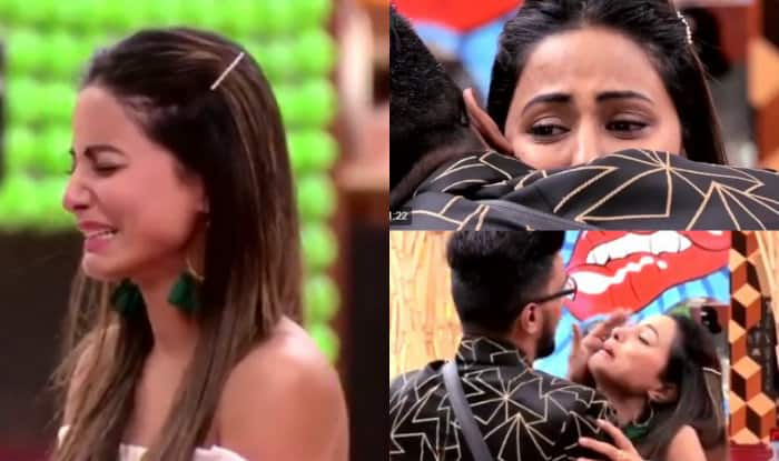 Hina Khan asks Priyank Sharma to maintain a distance from her