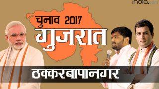 गुजरात चुनाव: ठक्करबापानगर में बीजेपी के लिए सीट बचाना मुश्किल