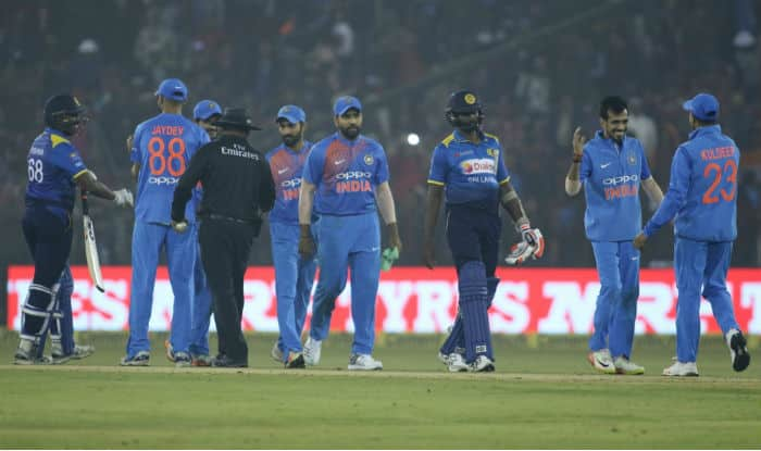 India sweeps Sri Lanka T20 series, with four balls to spare