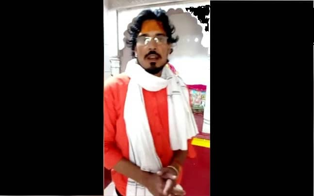 Shambhunath Raigar was arrested after the video went viral.