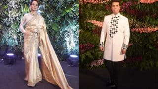 Virushka Mumbai Reception: When Kangana Ranaut, Karan Johar Came Face To Face At The Grand Event - Exclusive