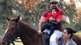 पटौदी पैलेस में होने वाला है ग्रैंड सेलिब्रेशन, पापा सैफ के साथ घोड़े की सवारी करने चले बेटे तैमूर खान