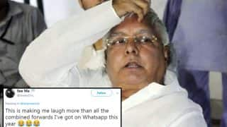 Lalu Prasad Yadav's Office to Handle Twitter Account; Gets Trolled for Flawless English in Tweet Announcing This