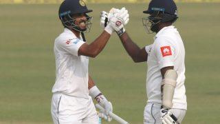 दिल्ली टेस्ट: श्रीलंका बैकफुट पर, भारत से 181 रन पीछे