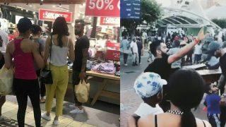 Virat Kohli - Anushka Sharma's South African Adventure: Shopping At The Mall; Bhangra On The Streets (Pics And Videos)