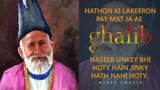 Mirza Ghalib Poetry: Twittarati Celebrates the Mughal Era Urdu Poet's 220th Birthday With His Best Poems