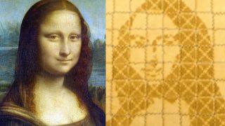 World's Smallest Mona Lisa: Scientists Recreate Leonardo da Vinci's Masterpiece Using DNA