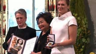 ICAN Receives 2017 Nobel Peace Prize Medal And Diploma