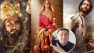 Padmavati Row: Rishi Kapoor Comes Out In Support Of The Film, Feels Protesters Should Be Put Behind Bars