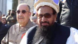 Palestine Refutes Reports of Reinstating Pakistan Envoy Who Shared Dais With Hafiz Saeed