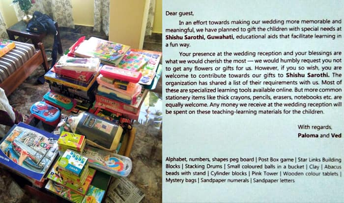 Indian Couple Asks Guests to Make Donations to NGO as Wedding Gifts ...