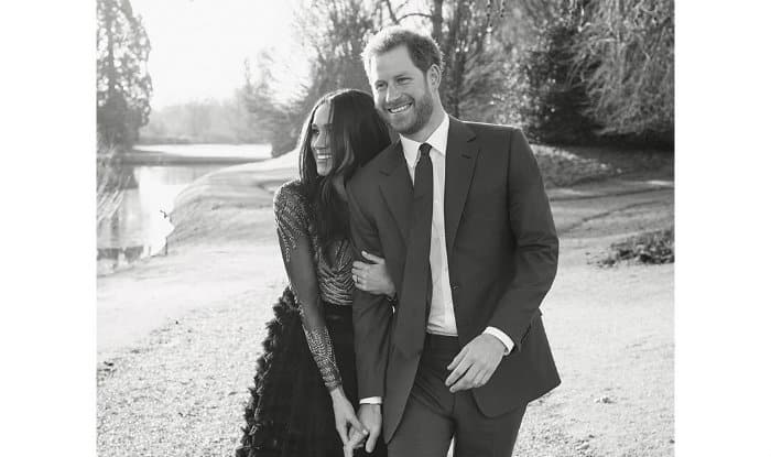 Meghan Markle Wore A $75000 Couture Gown For Engagement Photo Obvi