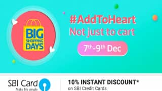 Flipkart Big Shopping Days 2017: Sale to Offer Heavy Discounts on Google Pixel 2, Apple iPhone 7 and Other Products