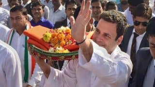 We Will Win 135 Seats in 2022 Gujarat Assembly Elections: Congress President Rahul Gandhi