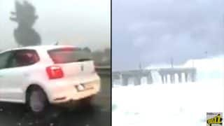 Fake Mumbai Sea-Link High Tide and Mumbai-Pune Expressway Hailstorm Videos of Ockhi Cyclone are Going Viral on WhatsApp Creating Panic