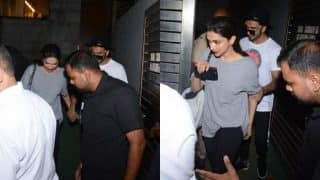 Ranveer Singh Teaches How To Be A Gentleman As He Hangs Out With Deepika Padukone (View Video and Pics)