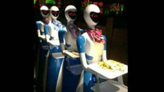 India's First Robot-Themed Restaurant in Chennai; Bots Serve Food and Take Selfies With Customers