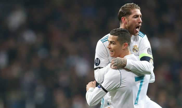 File picture of Cristiano Ronaldo and Sergio Ramos.