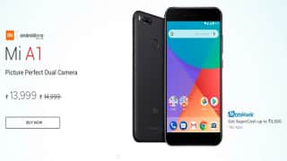 Xiaomi Mi A1 Gets Permanent Price Cut of Rs 1,000, Now Available at Rs 13,999