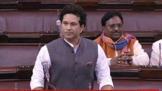 राज्यसभा में सचिन नहीं दे पाए अपना भाषण, कांग्रेस सांसद करते रहे हंगामा