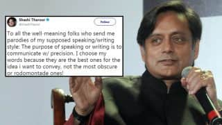 Shashi Tharoor Just Used Rodomontade in a Tweet, Twitterati Run to Fetch a Dictionary