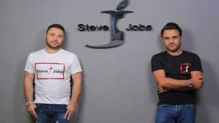 Steve Jobs Now the Name of an Italian Clothing and Accessories Company; Logo Similar to Apple With a Bite Taken Out of 'J'